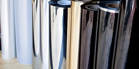 glossy metallic finishes for decorative laminated plastic